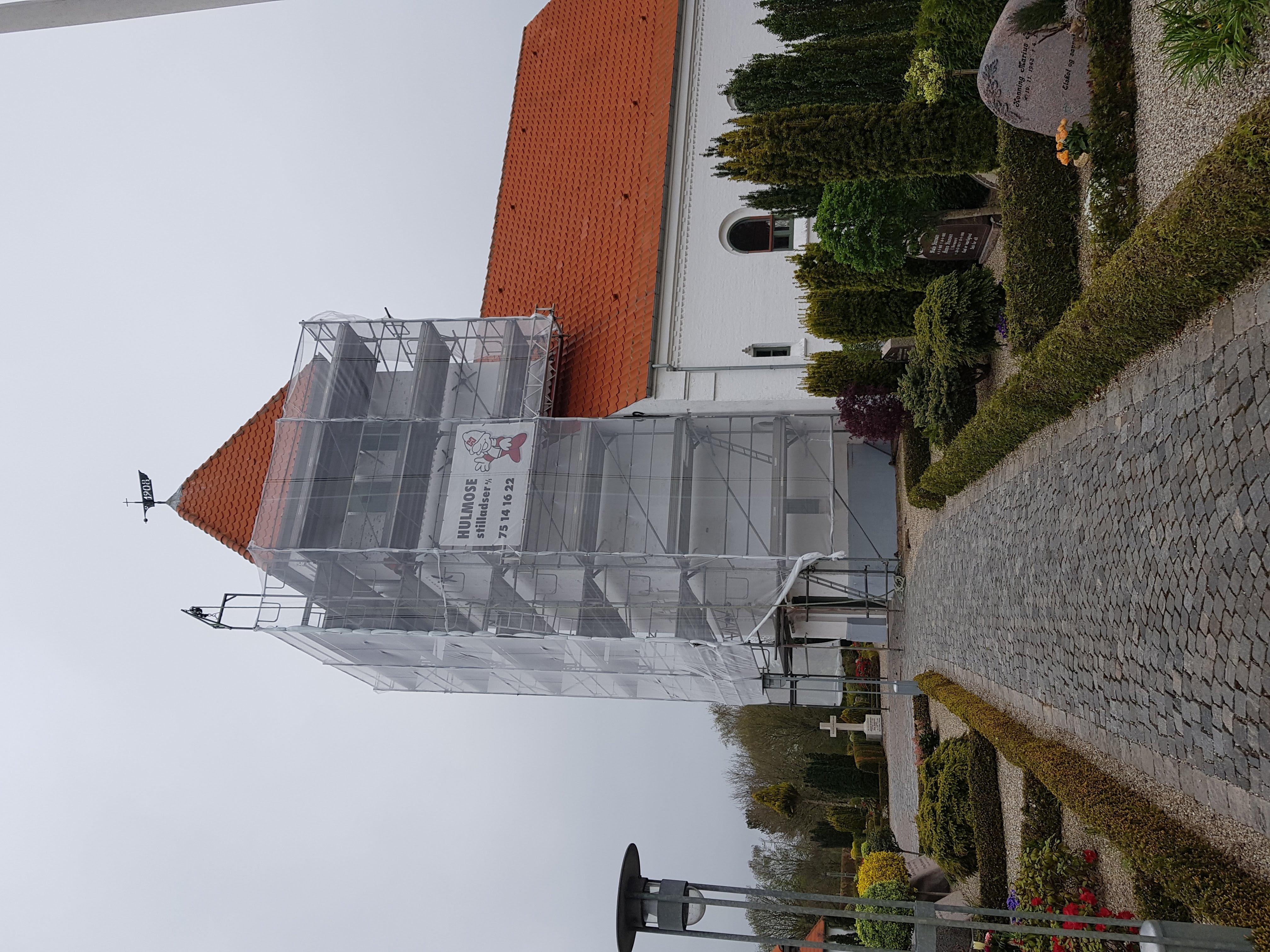 Renovering af kirketårn